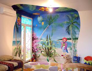 Роспись стен: преврати свой дом в уголок красоты